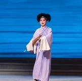 """Держите  Opera""""Madame белое Snake†зонтика-Kunqu Стоковое Изображение"""