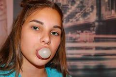 Дерзкая девушка подросток стоковая фотография rf