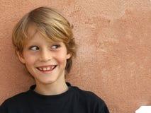 дерзкая сторона ребенка Стоковое фото RF