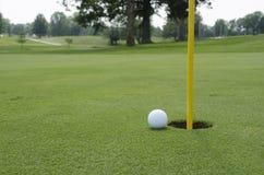 Дерновина гольфа стоковое изображение rf