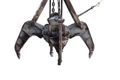 деррик-кран когтя Стоковая Фотография RF