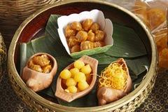 Десерты десерта Таиланда Стоковые Изображения