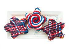 десерты патриотические Стоковые Фото