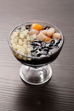 Десерты студня фасоли стоковая фотография