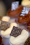 десерты шоколада Стоковое Изображение