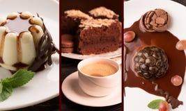 Десерты шоколада Стоковая Фотография RF