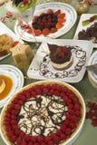десерты Стоковое Изображение