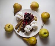 Десерты 02 Bisquit Стоковые Изображения RF