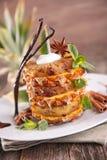 Десерт ананаса стоковые фотографии rf