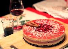 Десерт вечера рождества Стоковое Изображение RF