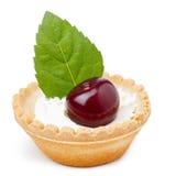 Десерт вишни стоковые изображения rf