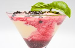 десерт вкусный Стоковая Фотография RF