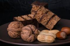 Десерт гайки Стоковое фото RF