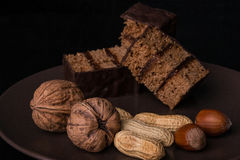 Десерт гайки Стоковые Фотографии RF