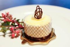 Десерт губки шоколада Стоковое Фото