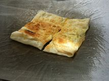 Десерт зажаренного хлеба Стоковые Фото