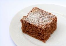 Десерт какао при взбрызнутый кокос Стоковая Фотография