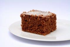 Десерт какао при взбрызнутый кокос Стоковые Изображения