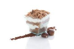 Десерт каштана стоковое изображение rf