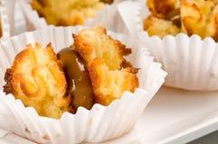 десерт кокоса карамельки Стоковое Изображение