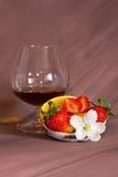 десерт конгяка стоковое фото