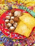 десерт масленицы Стоковая Фотография RF