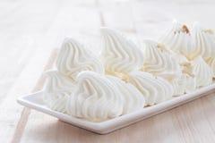 Десерт меренги Стоковое Изображение
