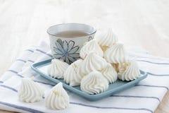 Десерт меренги Стоковая Фотография RF