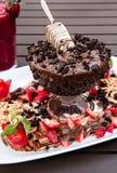 Десерт мороженого стоковые изображения