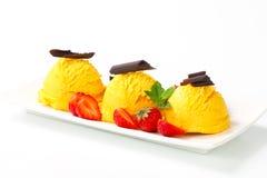 Десерт мороженого Стоковое Фото
