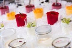 Десерт на льде стоковые изображения