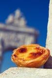 Десерт пастельный de nata Стоковые Фото