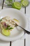 Десерт пирога лимона Стоковая Фотография RF