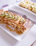 Десерт пирога кивиа Стоковое Изображение