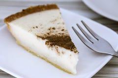 Десерт пирога молока Стоковое Фото