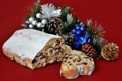 Десерт рождества Стоковое Изображение