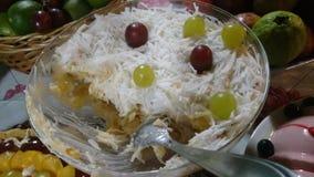 Десерт рождества стоковые изображения rf