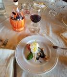 Десерт стиля Стоковое фото RF