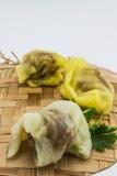 Десерт Таиланда на изолированной предпосылке Стоковые Изображения
