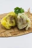 Десерт Таиланда на изолированной предпосылке Стоковое Изображение RF