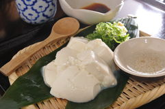 Десерт тофу Стоковое фото RF