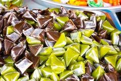 Десерт цветастой конфеты тайский Стоковые Фотографии RF