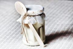 Десерт чизкейка Стоковая Фотография RF