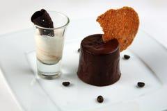 Десерт шоколада Стоковые Фотографии RF