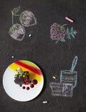 Десерт шоколада Стоковое Изображение