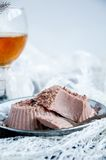 Десерт - шоколадный торт Стоковое фото RF