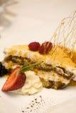десерт ягоды Стоковые Фото