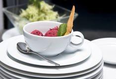 десерт ягод стоковое изображение