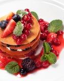 десерт ягод стоковое изображение rf