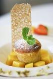 десерт стоковое изображение rf